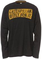 Caterpillar Mens Curved Banner Long Sleeve T-Shirt (XL)