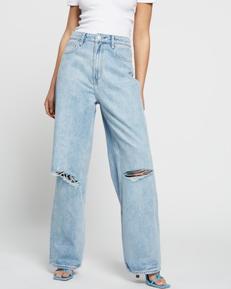 Lee High Baggy Jeans