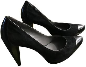 Calvin Klein Black Suede Heels