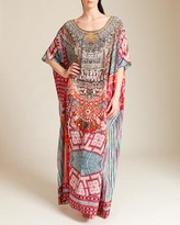 Camilla In The Name Of The Tribe Round Neck Kaftan