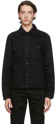 Rag & Bone Black Denim Definitive Jacket