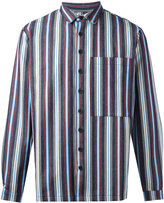 Sunnei woven stripe shirt - men - Cotton - S