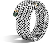 John Hardy Coil Bracelet with Gemstone