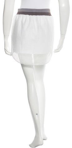 Clover Canyon Laser Cut Mini Skirt w/ Tags