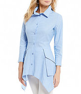IC Collection Button Front Blouse