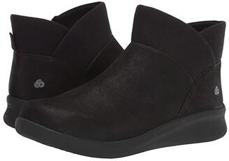 Clarks Sillian 2.0 Dusk (Black Synthetic Nubuck) Women's Boots