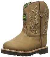 John Deere Inf All Over Tan PO Pull-On Boot