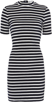 Alexander Wang Stripe Velvet Dress
