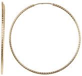 Bony Levy 14K Yellow Gold Diamond Cut Earrings