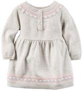 Carter's Baby Girl Sweater Dress