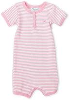 Coccoli Newborn Girls) Stripe Knit Romper