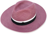Maison Michel contrast hat - women - Straw - S