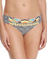 Trina Turk Brasilia Shirred-Side Hipster Swim Bottom