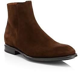 Aquatalia Men's Daniel Suede Ankle Boots