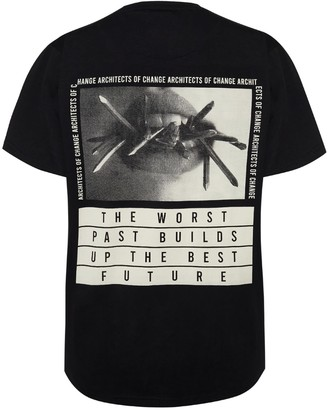 Architects Of Change The Worst Past Builds Up The Best Future T-Shirt