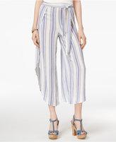 American Rag Juniors' Printed Tulip-Leg Cropped Soft Pants, Created for Macy's