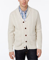 Tommy Bahama Men's Shawl-Collar Cable-Knit Cardigan