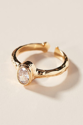 Anthropologie Gina Ring By in Gold Size 6