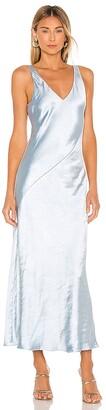 Line & Dot x REVOLVE Loulou Satin Dress