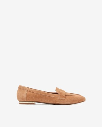 Express Genuine Suede Loafers