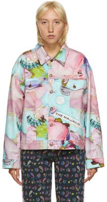 Marc Jacobs Multicolor Maisie Cousins Edition The Oversized Denim Jacket
