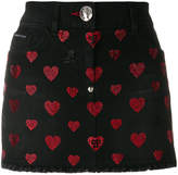 Philipp Plein Teddy Evil skirt