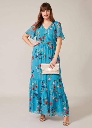 Phase Eight Morag Floral Maxi Dress