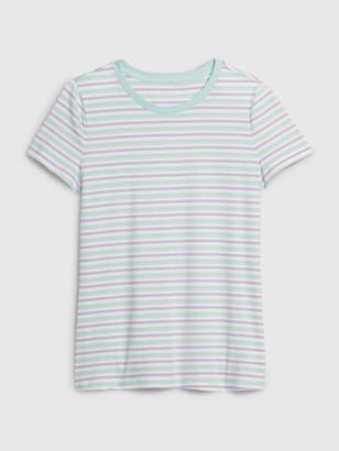 Gap Vintage Wash Stripe Crewneck T-Shirt