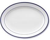 Williams-Sonoma Williams Sonoma Brasserie Blue-Banded Porcelain Oval Platter