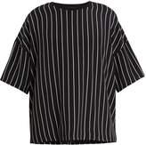 Haider Ackermann Striped silk T-shirt