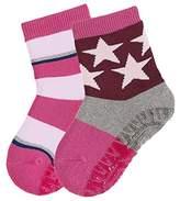 Sterntaler Baby Girls' Fli Soft DP Ringel/Sterne Calf Socks,7