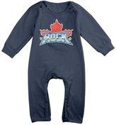 Enlove Toronto Rock Lacrosse BABY Cute Long Sleeves Baby Onesies Bodysuit For Boys Size 6 M