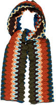 Missoni Knitted Multicolor Scarf