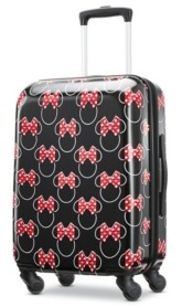"""American Tourister Disney by Minnie Mouse Bow 20"""" Carry-On Spinner"""