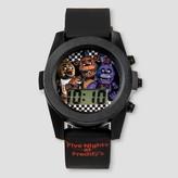 Boys' Five Nights at Freddy's Glashing LCD Watch - Black