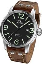 TW Steel Men's MS16 Maverick Analog Display Quartz Brown Watch