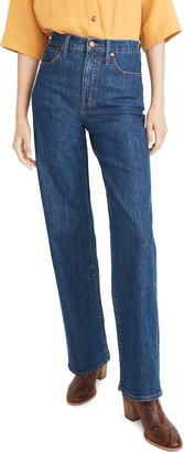 Madewell Slim Wide Leg Full-Length Jeans