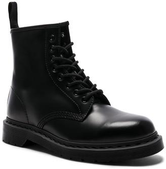 Dr. Martens 1460 8-Eye Mono Boot in Black Mono | FWRD