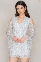 Keepsake Porcelain L/S Lace Dress