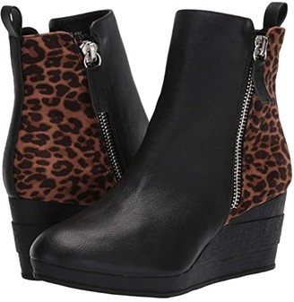 Sbicca Hegan (Black/Leopard) Women's Shoes