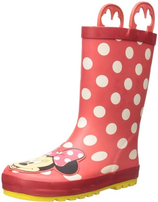 Western Chief Waterproof Disney Character Rain Boots with Easy on Handles