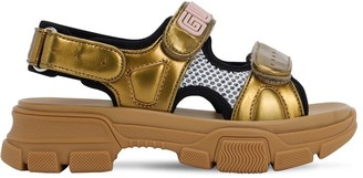Gucci Aguru Rubber Strap Sandals
