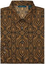 Perry Ellis Slim Fit Ornate Kaleidoscope Print Shirt