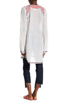 Johnny Was Linen Blend Smock Tunic