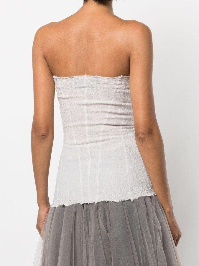 Thumbnail for your product : Marc Le Bihan Strapless Corset Top