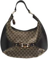 Gucci Bamboo cloth handbag