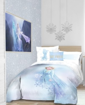 Disney Frozen 2 'Elsa Color block' 6pc Twin bed in a bag Bedding