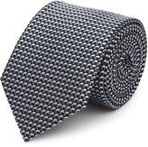 Reiss Nordman - Graphic Silk Tie in Blue, Mens