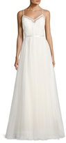 BHLDN Charlotte Sheer A-Line Gown