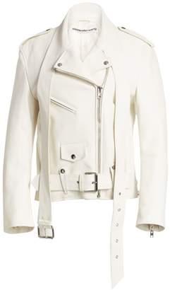 Alexander Wang Martingale Leather Moto Jacket